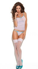 Mesh Bride Cami Set