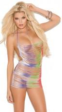 Rainbow Fringe Chemise