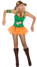 Sunflower Scarecrow Costume