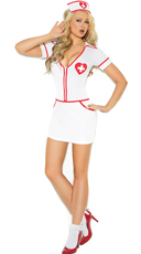 Heart Throb Hottie Nurse Costume
