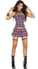 Bondage Naughty School Girl Costume