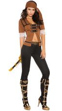 Sexy Treasure Pirate Costume