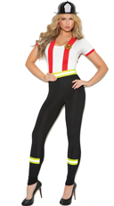 Light My Fire Firefighter Costume