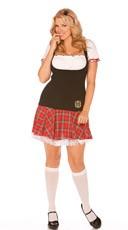 Plus Size Frisky Freshman Costume