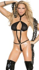Tease Him Halter Neck Teddy