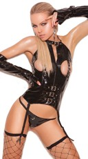 Naughty Dreams Vinyl Bustier