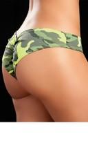 Patterned Scrunch Panty