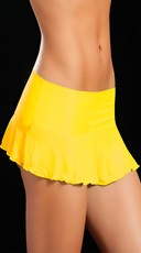 Neon Ruffle Skirt
