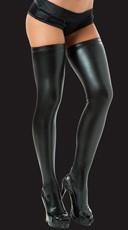 Sexy Metallic Thigh High Stockings