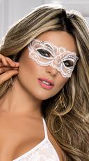 Scalloped Lace Eye Mask