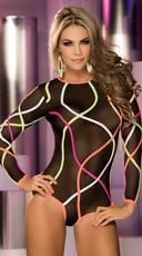 Strappy Glow Bodysuit