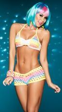 Raving Rainbow Bikini Set
