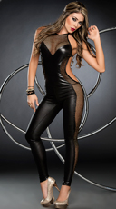 Foxy Fishnet Jumpsuit