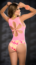 Darling Daisy Neon Bodysuit