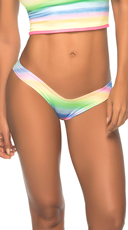 Colorful Mini Scrunch Thong
