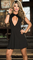 Dainty Romance Cutout Dress
