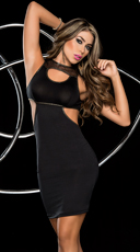 Ladies Night Cut Out Club Dress