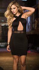 Out All Night Club Dress