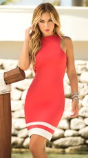 Cutout Back Summer Dress