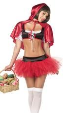 Red Hoodie Cutie Costume