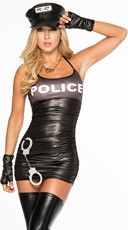 Raise Your Hands Police Lingerie Costume