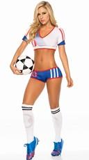 USA Soccer Player Costume