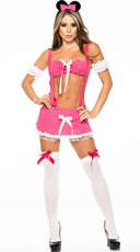 Cutie Play Mouse Lingerie Costume