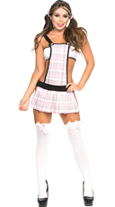 Always Ready School Girl Lingerie Costume