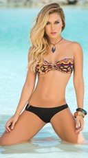 Two Piece Tribal Print Bikini