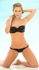 Convertible Halter Top Bikini Set