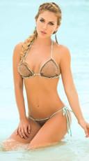 Bronze Beauty Two Piece Swimsuit