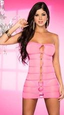 Strappy Ring Cut Out Chemise