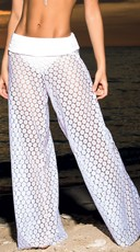 Sunburst Net Beach Pants