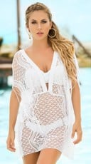 Flirty Poncho Cover-Up