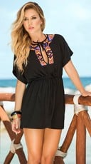 Short Sleeve Tribal Summer Dress
