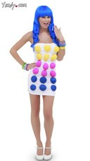Candy Buttons Costume