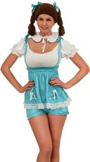 Blue Pumpkin Patch Doll Costume