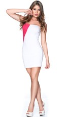 Color Block Cutie Club Dress