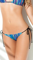 Exclusive Sexy in Stripes Bikini Bottom