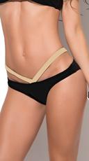 Bronzed Babe Strappy Bikini Bottom