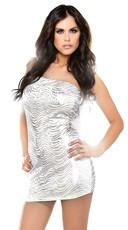 Metallic Tube Dress
