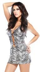 Zebra Ring Dress