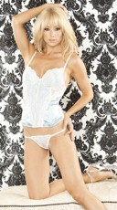 Something Blue Bustier Set