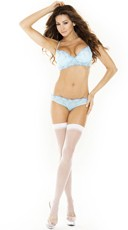 Pastel Padded Bra and Keyhole Panty