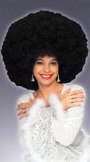 Deluxe Black Disco Wig