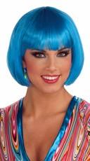 Chic Blue Bob Wig