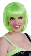 Green Vibe Wig