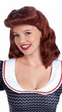 1940s Auburn Wig