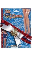 Navy Sailor Garter