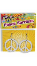 Hippie Generation Peace Earrings